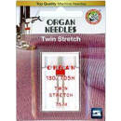 Organ Needle Twin Stretch - Zwillingsnadel 75/4