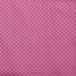 """Baumwolle """"Petit Dots"""" mauve"""