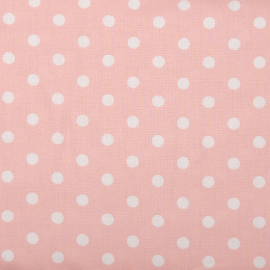 Baumwolle Dots rosa
