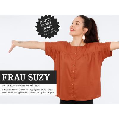 Frau Suzy - Kurzarmbluse