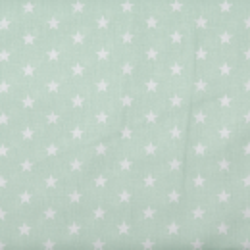 "Baumwolle ""Petit Stars"" mint"