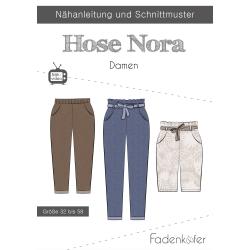 Papierschnittmuster Hose Nora Damen von Fadenkäfer