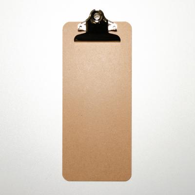 Klemmbrett Hartfaser-Holz 115 x 265 mm