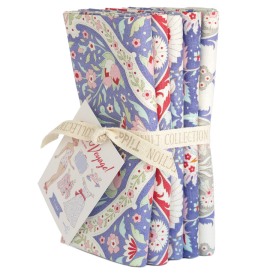 Tilda Fat Quarter Bundle Bon Voyage blau