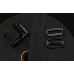 Autogurtband 30mm, schwarz