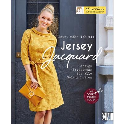 Jetzt näh ich mit Jersey Jacquard - Miou Miou Schnittmuster