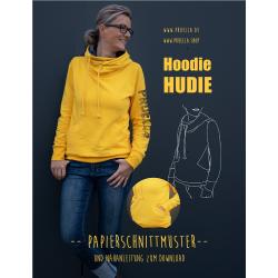 Papierschnitt Hoodie Hudie von Prülla