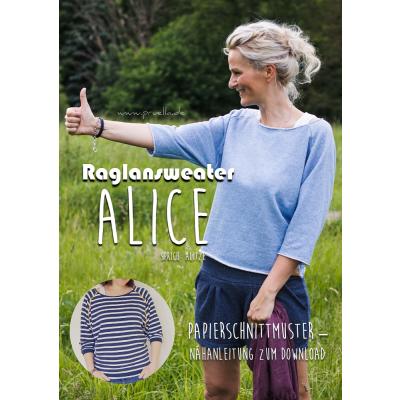 Papierschnitt Sweater Alice von Prülla