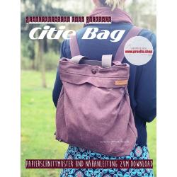 Papierschnitt Rucksacktasche Citie Bag von Prülla