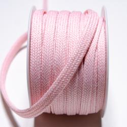 Kordeltresse meliert 10 mm rosa-offwhite