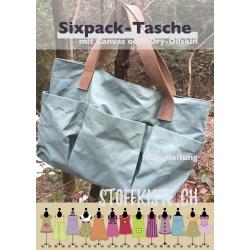 Nähanleitung Sixpack-Tasche