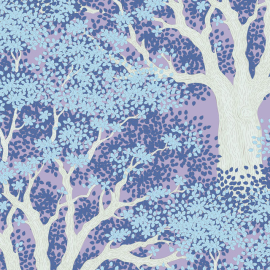 Tilda Fabric Woodland Juniper blue