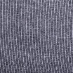 """Leinen-Baumwoll """"Streifen"""" schwarz-weiss"""