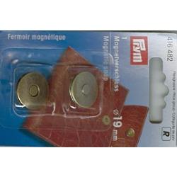 Prym Magnet-Verschluss 19mm altmessing