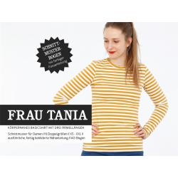 Frau Tania - Körpernahes Basicshirt