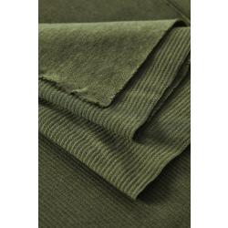 Organic Woolen Ottoman green khaki by Mind the MAKER