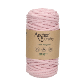 Makramé-Garn Anchor Crafty rosa