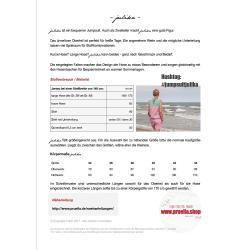 Papierschnitt Jumpsuit julika von Prülla