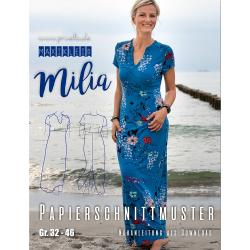 Papierschnitt Maxikleid Milia von Prülla