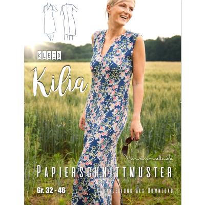 Papierschnitt Kleid Kilia von Prülla