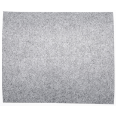 Filzplatte 25x30 cm Dicke 3 mm hellgrau