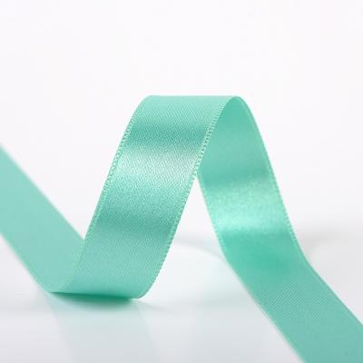 Satinband zweiseitig 8 mm mint