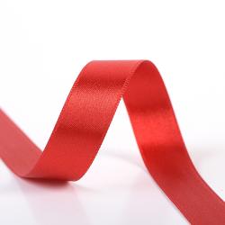 Satinband zweiseitig 8 mm rot