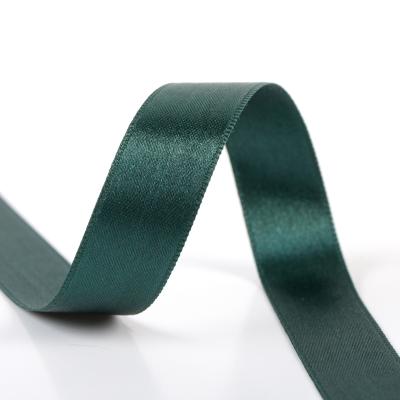 Satinband zweiseitig 8 mm grün