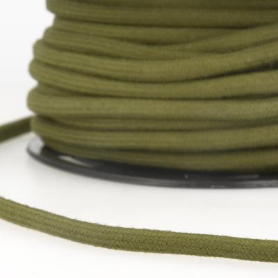 Baumwoll-Kordel 8 mm khaki