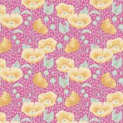 Tilda Gardenlife Poppies Pink