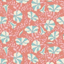 Tilda Gardenlife Striped Petunia Coral
