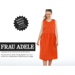 Frau Adele- Trägerkleid mit Knopfleiste im...