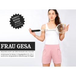 Frau Gesa - Shorts mit breitem Bund