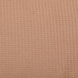 Waffeljersey uni sand