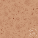 """Jersey """"Floralines"""" apricot"""
