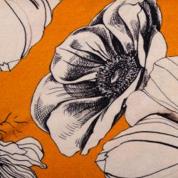 Viskosejersey Alani orange