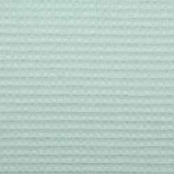Waffelstoff uni hellgrün