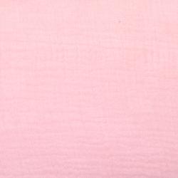 Musselin Double Gauze uni rosa