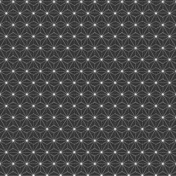 Baumwolle Kopenhagen Sterne dunkelgrau