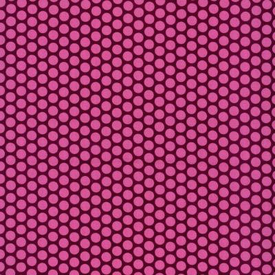 Baumwolle Kopenhagen Tupfen bordeaux-pink
