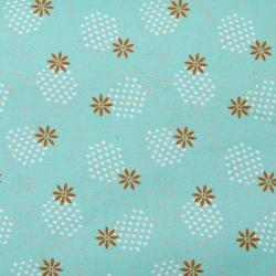 Baumwolle Dotties mint