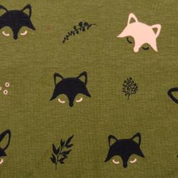 Sweat Polly fox waldgrün-schwarz nachtleuchtend
