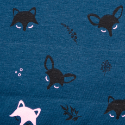 Sweat Polly fox dunkelblau-schwarz nachtleuchtend