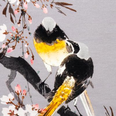 Sweat Winter Birds grau