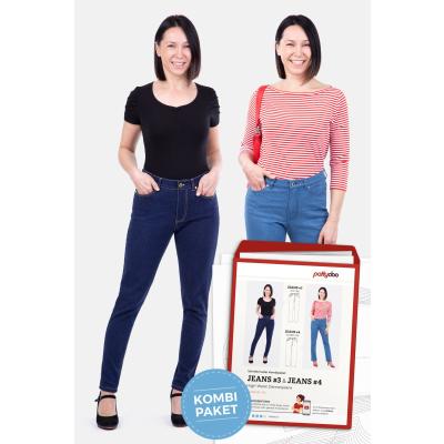 Damen Jeans 3 & 4 High Waist by pattydoo