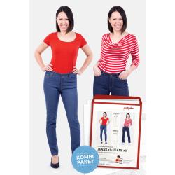 Damen Jeans 1 & 2 Regular Waist by pattydoo