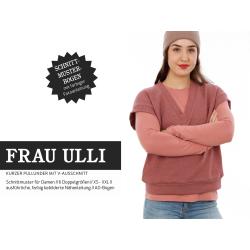 Frau Ulli - kurzer Pullunder mit V- Ausschnitt