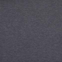 meetMILK Feinripp-Jersey dunkelgrau
