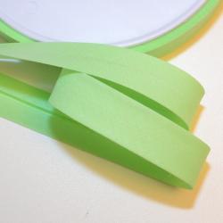 Schrägband uni light green