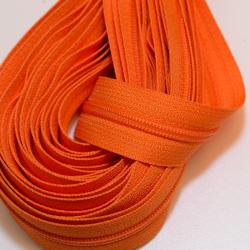 """Reissverschluss """"Nylon 4"""" orange"""